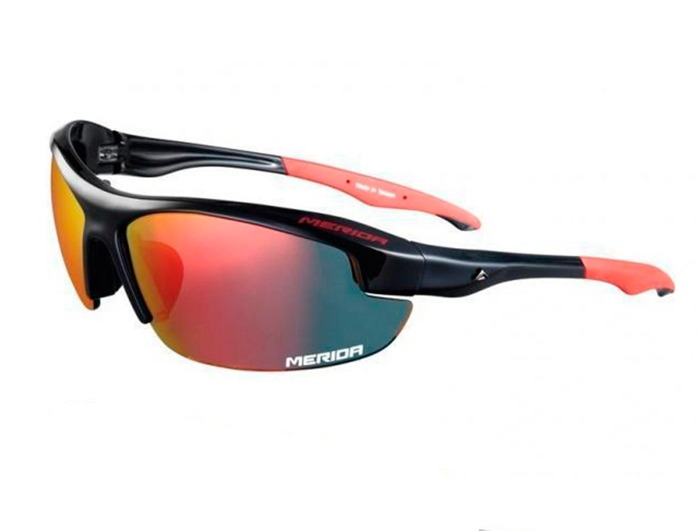 Очки со сменными линзами Merida Sport Edition Sunglasses Shiny black/Red (2313001088)