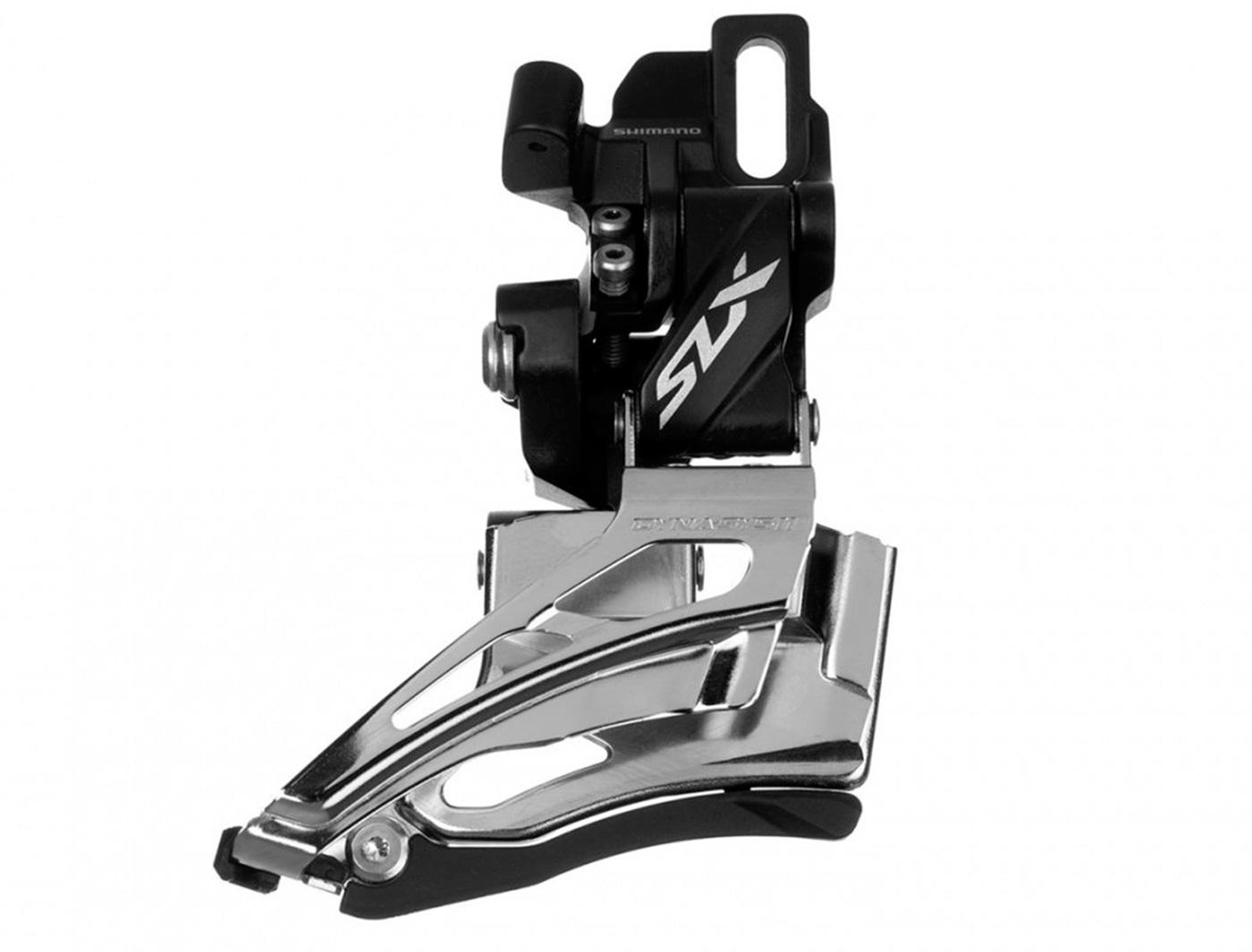 Перек-ль передний Shimano SLX, M7025-D, direct mount, down-swing, для 2X11, универс. тяга