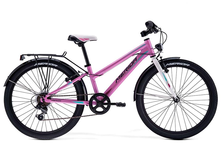 Велосипед Merida Princess J24 (Розовый) (2017)