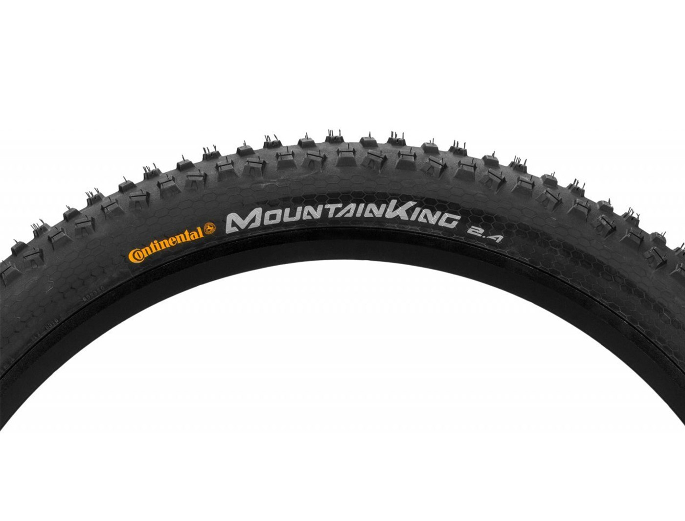"Покрышка 27.5x2.4"" Continental Mountain King RaceSport foldable OEM 3/180Tpi 785гр. (01995170007)"