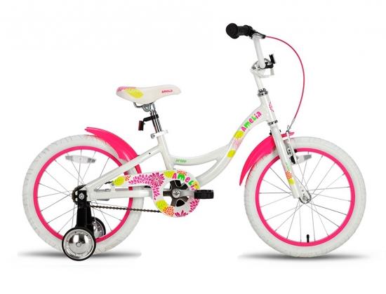 Велосипед PRIDE AMELIA Бело-розовый