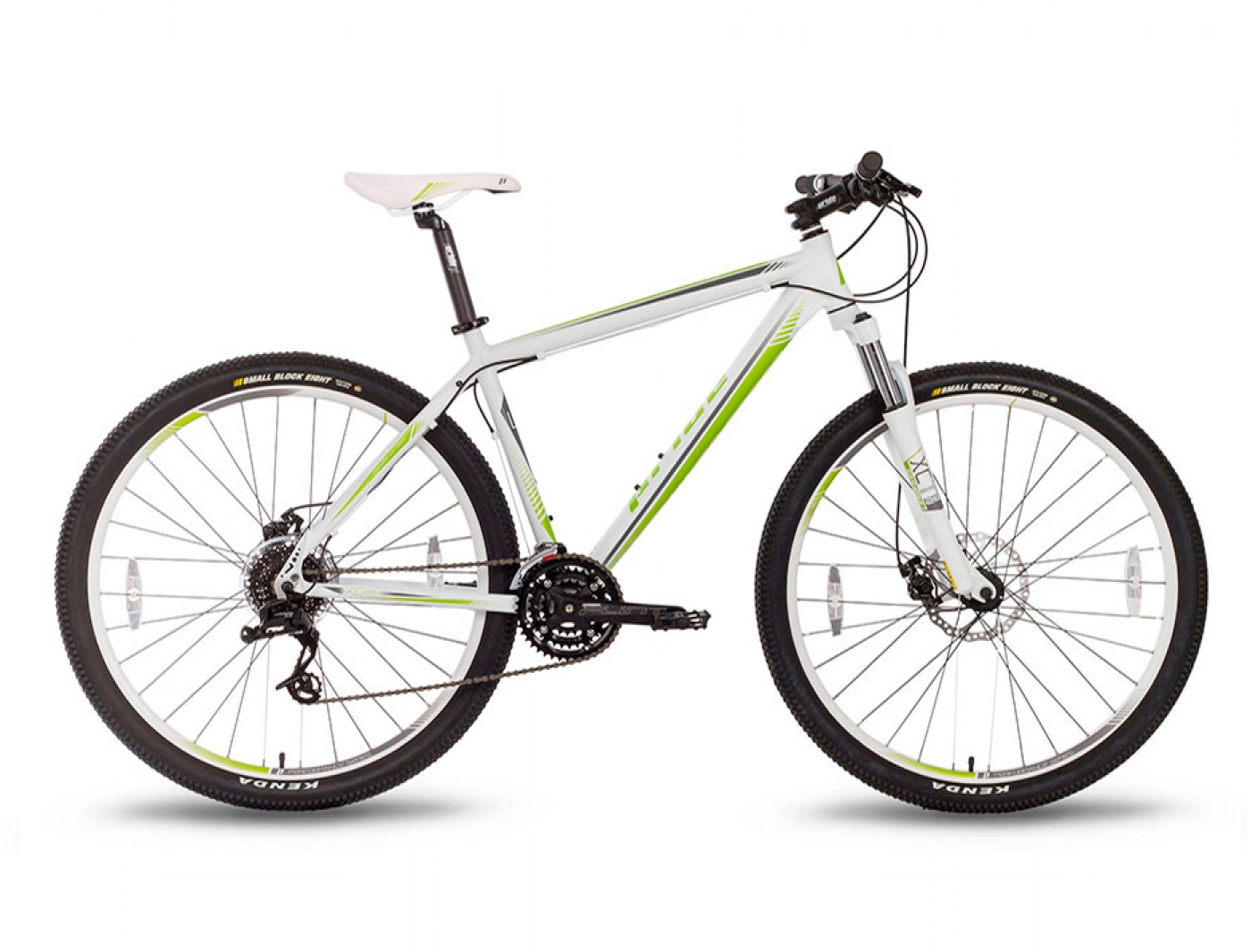 Велосипед - PRIDE XC-29 MD Бело-Зеленый