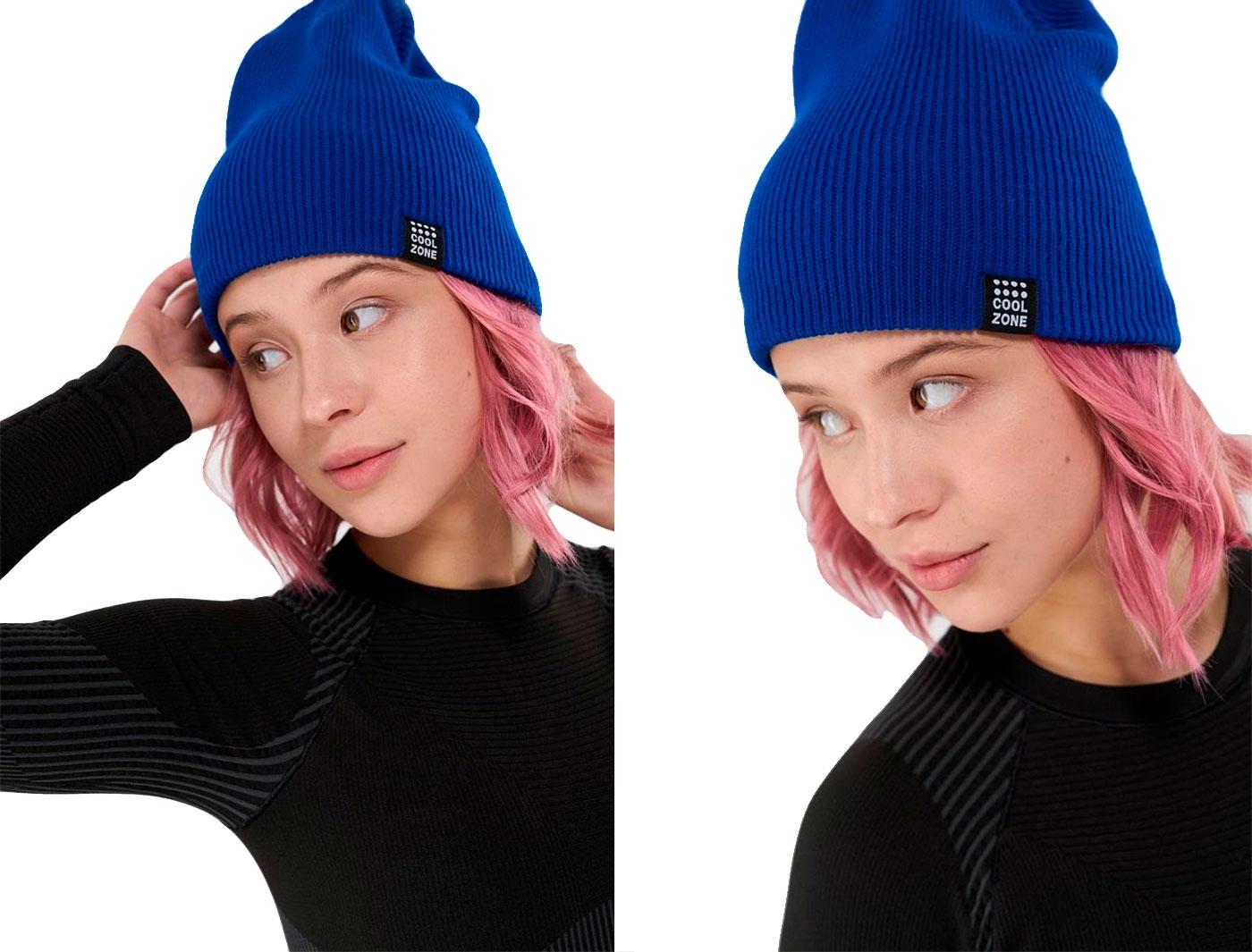 Шапка Cool Zone синяя 01/18 (one size)
