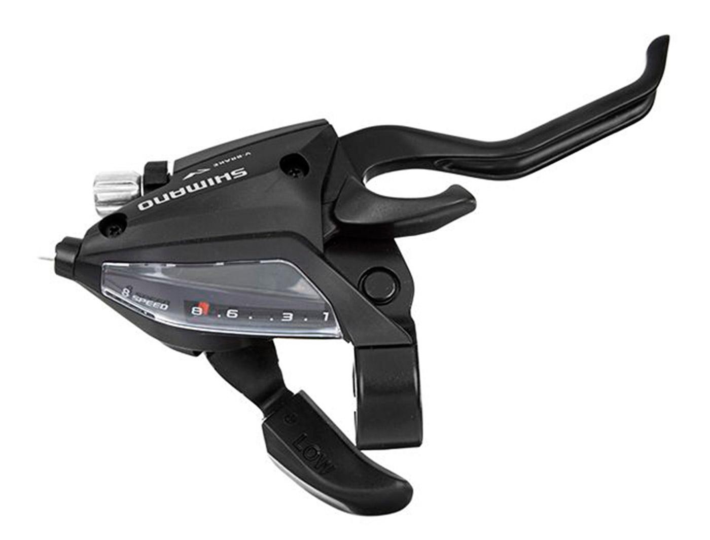 Шиф/Тор р. Shimano Tourney, EF500, прав, 8ск, тр., цв. черный