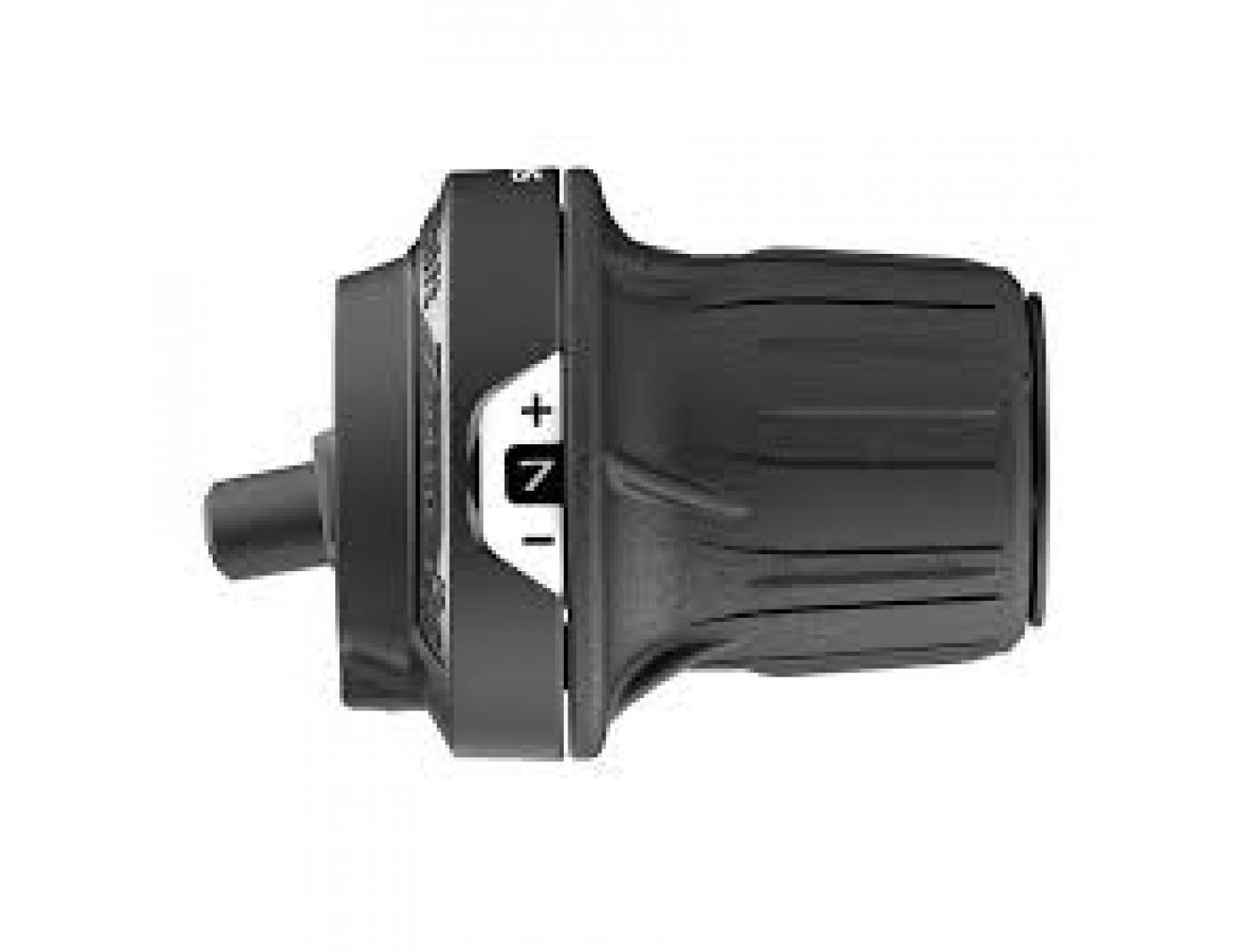 Шифтер Shimano Tourney, RV200-7R, прав, 7ск, тр. 2050мм, без уп.
