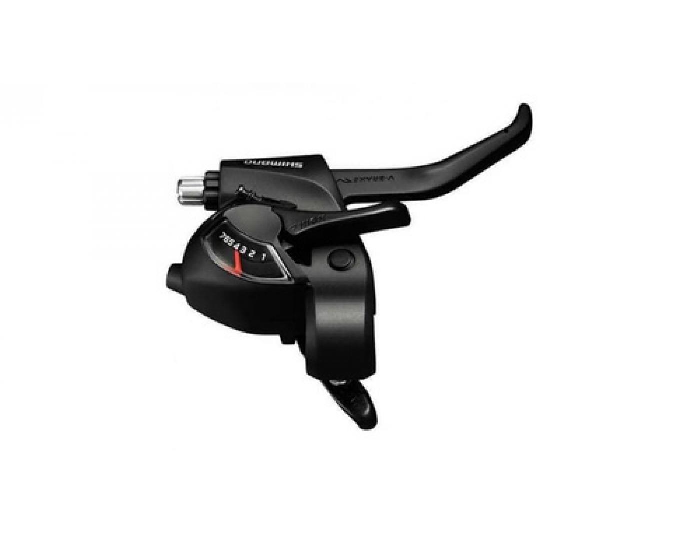 Шифтер+Тормозная ручка Shimano Tourney EF41 прав 7ск. т р. 2050мм   ASTEF41R7AL