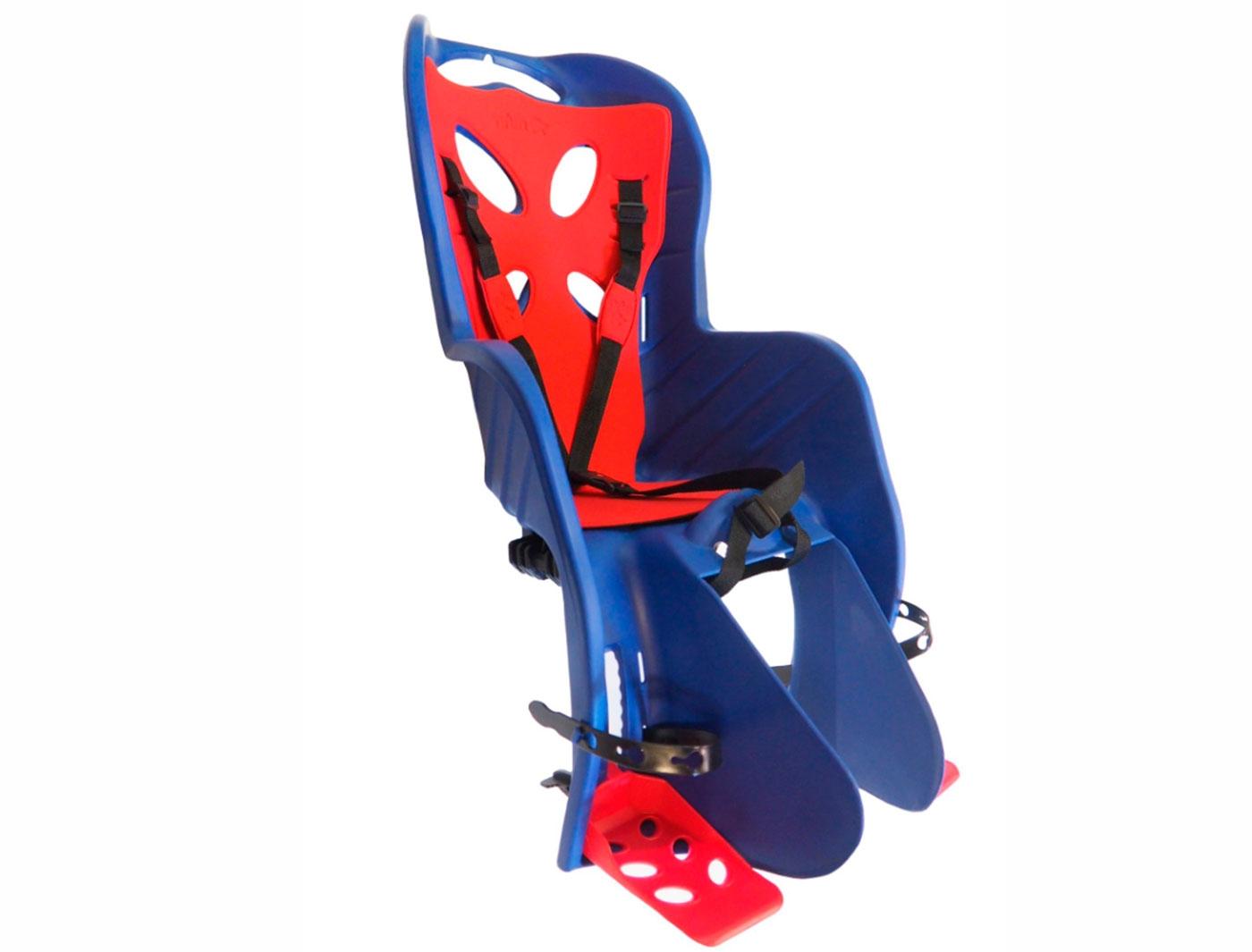 Сиденье детское TUV BELLELLI на подседельный штырь (4) синее до 7лет/22кг 5-259855