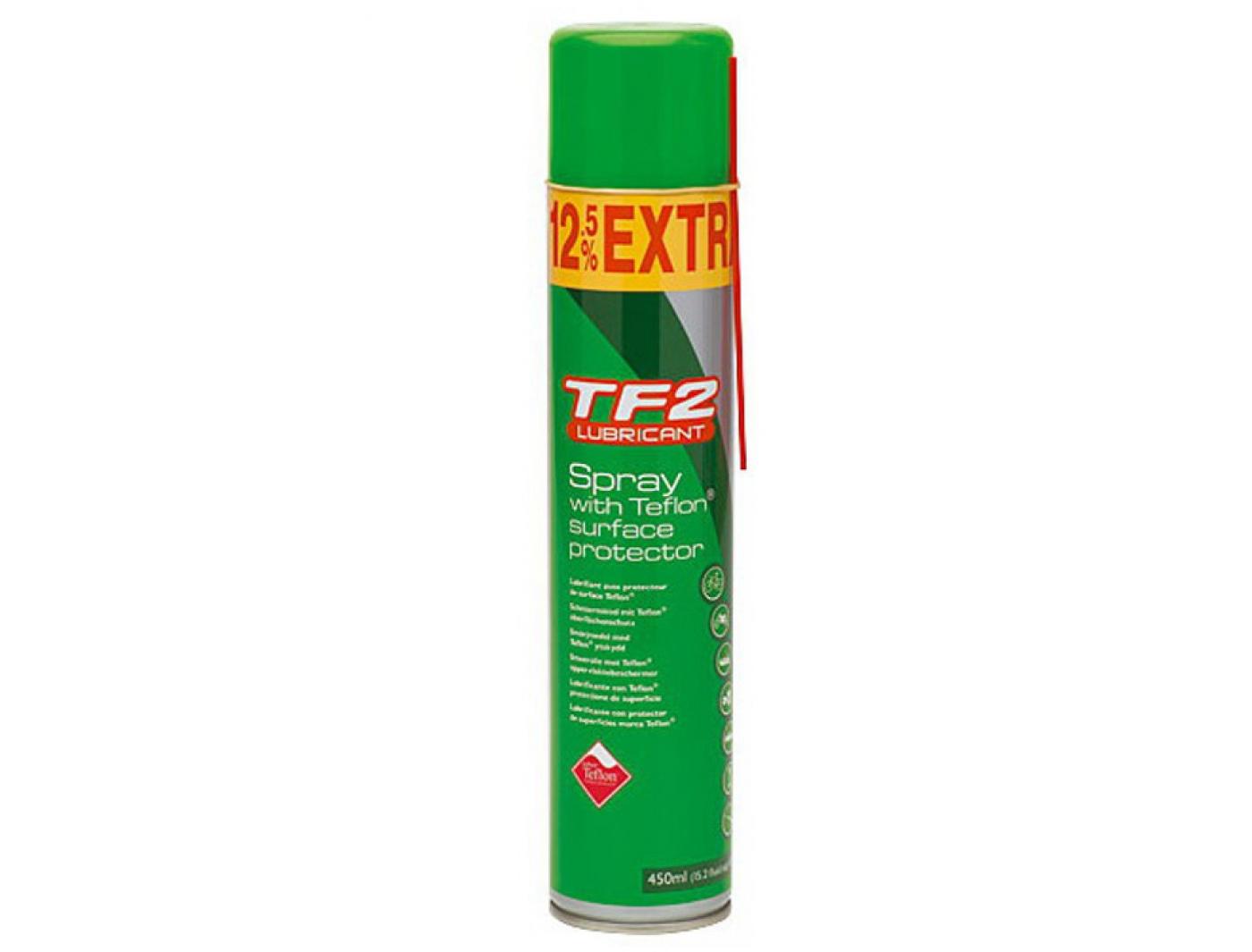 смазка weldtite с тефл. tf-2 для цепи/тросов/перекл./систем спрей 450мл