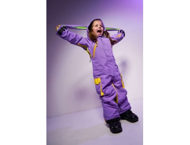 Комбинезон FUN KIDS 3115/30 Фиолетовый-желтый (2020)