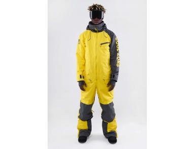 Комбинезон KN2110/37/10 BIGFOOT Асфальт/желтый (2021)