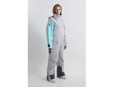 Комбинезон INTRO KN1123/36/23 холодный серый/аквамарин (2022)