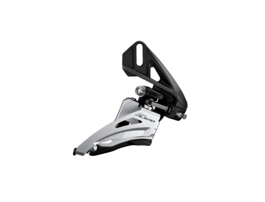 Перек-ль передний Shimano Alivio, M4020, side swing, верхн. тяга, direct mount, для 2x9ск уг.:64-69,