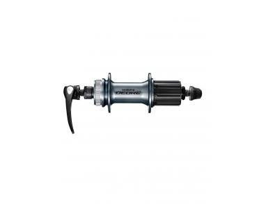 Втулка задн. Shimano Deore, M6000, 32 отв, 8/9/10ск, C.Lock, QR, с пыльником, серебр.