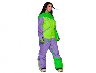 комбинезон cool zone mix 3514м27м лайм-салат-фиолет меланж (2018)