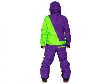 комбинезон cool zone snowboard 4335/14 темн.фиолетовый-лайм (2018)