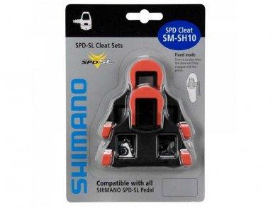 Шипы Shimano, SM-SH10, красный, пара  Y42U98020