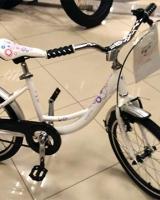 Детский велосипед Corto KITI (Белый)
