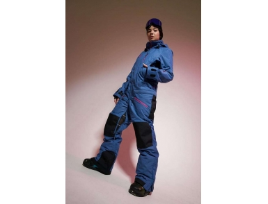 Комбинезон URBAN KN1107/01/1 темно-синий джинс (2020)