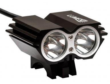 Фонарь передний Lumen 302-X, 2000 lumens, 2 Cree XML-T6 черный