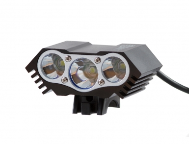 Фонарь передний Lumen 303-X, 3600 lumens, 3 Cree XML-T6 черный