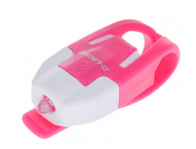 Фонарь задний D-Light CG-210R-WH+PK габаритный 1Вт 3034 бело-розовый