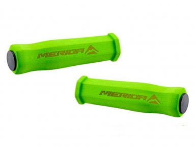 Грипсы неопрен Merida High Density Foarm 125mm 50g. Green (2058033931
