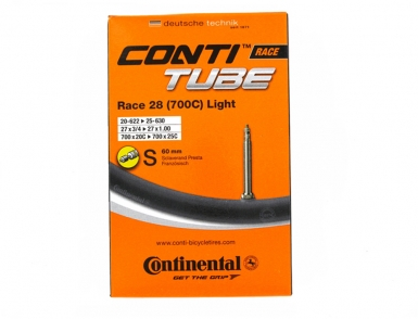 Камера 28 (700) Continental Race Light Вело ниппель