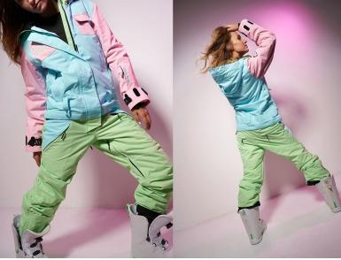 Комбинезон Cool Zone FLEX KN1111/26/23 Св.Розовый/Аквамарин/Фисташковый (2020)