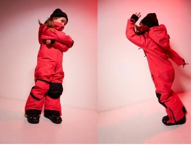 Комбинезон Cool Zone ICE KN 3118/09 KIDS Красный джинс (2020)