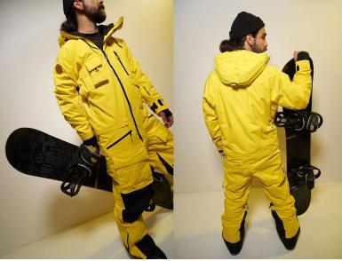 Комбинезон Cool Zone SNOWMOBILE KN2140/10 Желтый (2020)