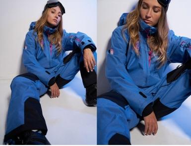 Комбинезон Cool Zone URBAN KN1107/01 Синий джинс (2020)