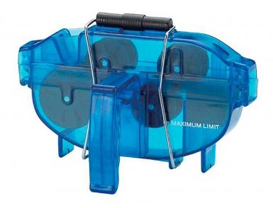 Машинка BIKEHAND 6-14791 для чистки цепи YC-791 в 2-х плоск. с рукояткой голубая