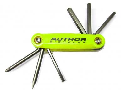 Набор унив. AUTHOR ToolBox 6 складн. шестигр., +/- отвертки Сr-Va 8-10000038