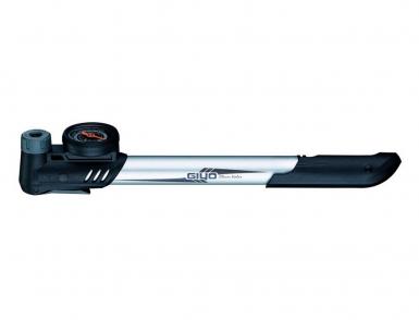 Насос 6-190043 GP-43CA алюминиевый. с манометром 1,5',  универс. Clever Valve гол-ка Т-образ. ручка,
