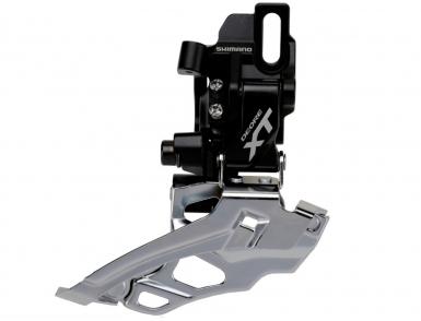 Перек-ль передний Shimano XT, M786D-L, на упор,  черн, ун. тяга, для 38/44T