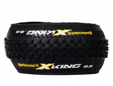 "Покрышка 27.5x2.2"" Continental X-King Performance foldable OEM 3/180Tpi 665гр. (01540370000)"