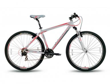 Велосипед PRIDE XC-29 V-br Серо-Красный