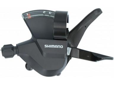 Шифтер Shimano Altus, M315, лев, 3ск, тр. 1800мм