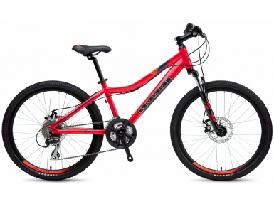 Велосипед GREEN Kids 24 (Красный) (2019)