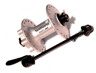 Втулка передняя Shimano HB-M475, 36 отв, 6-болт, QR
