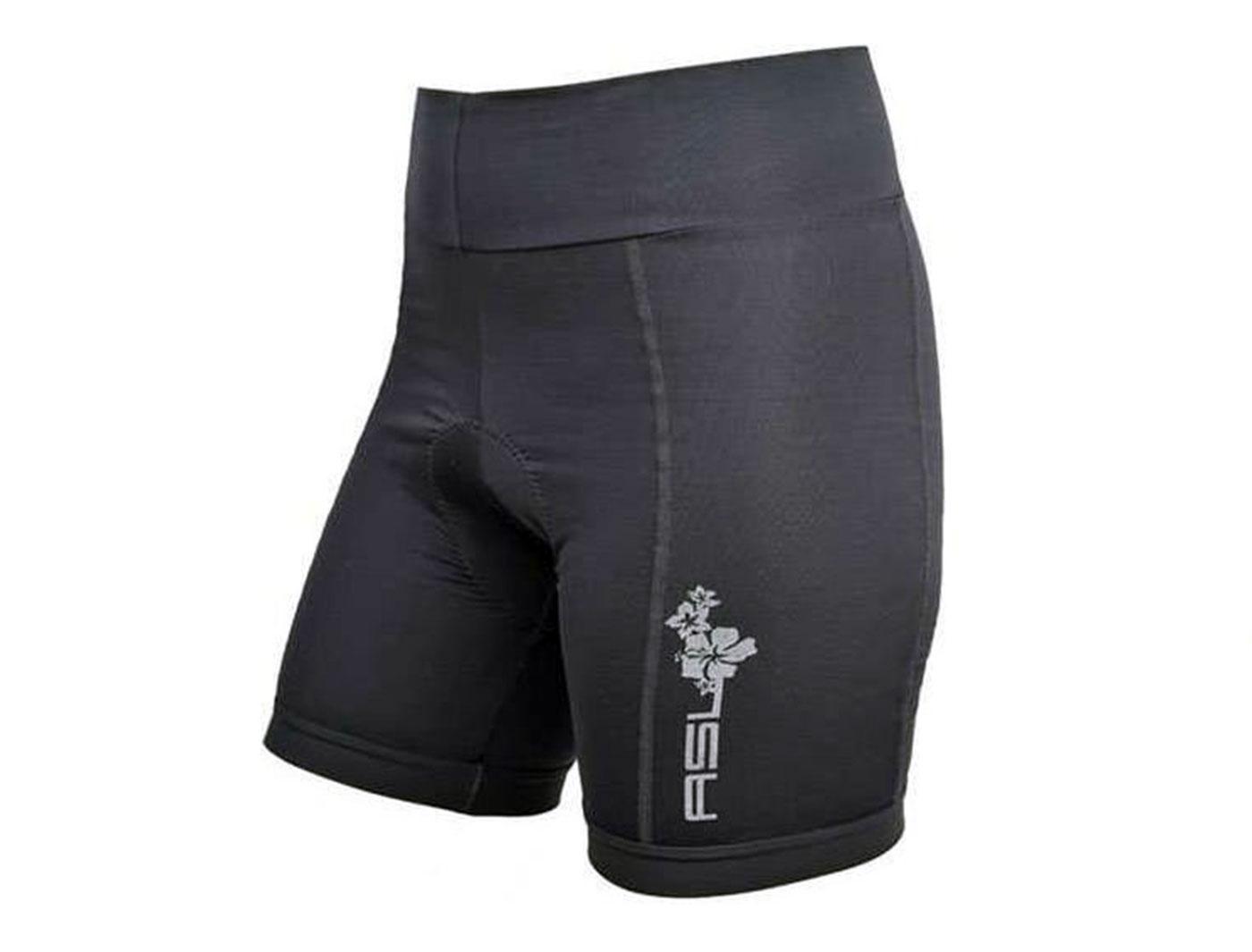 Велошорты AUTHOR женские ASL-4 Comfort Pas Crn с памперсом широк. пояс (Черные)