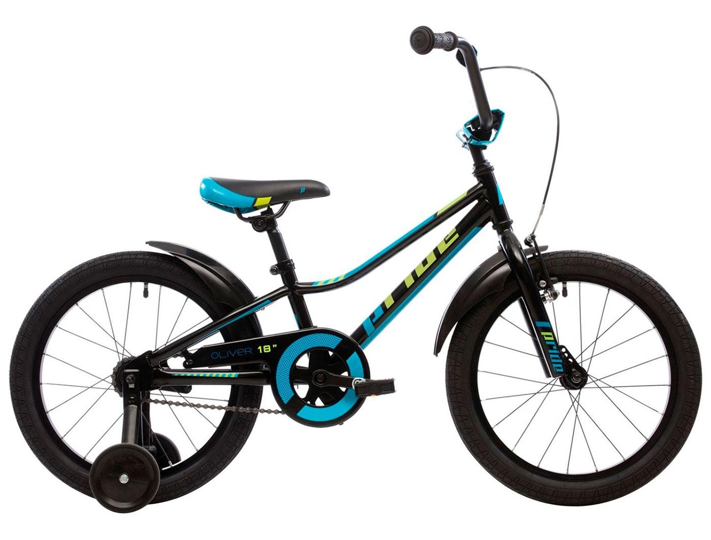 Велосипед 18 Pride OLIVER (Черный) (2018)