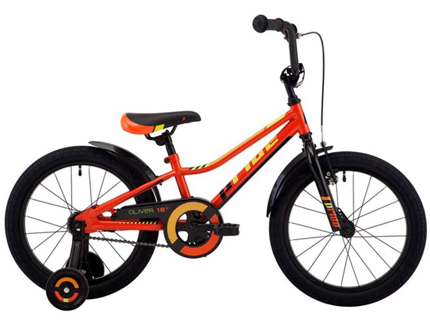 Велосипед 18 Pride OLIVER (Оранжевый) (2018)