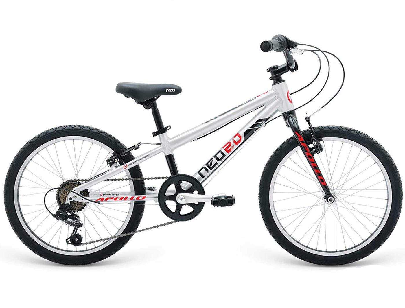 Велосипед Apollo Neo 6s boys Black/Red (2018)
