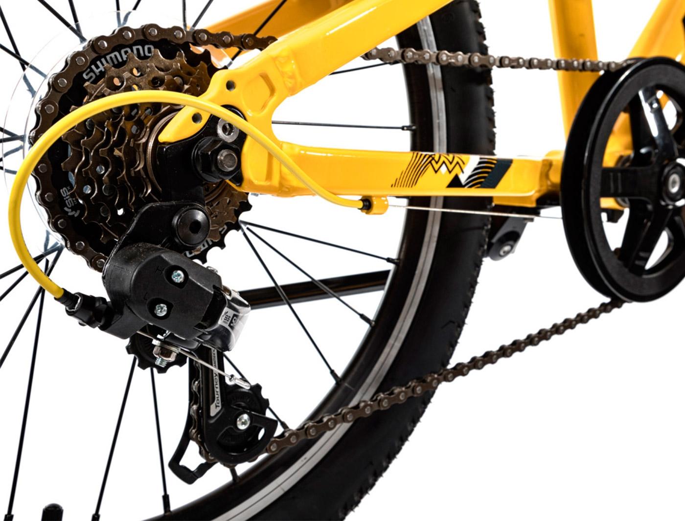 Велосипед Aspect CHAMPION (Желтый) (2021)