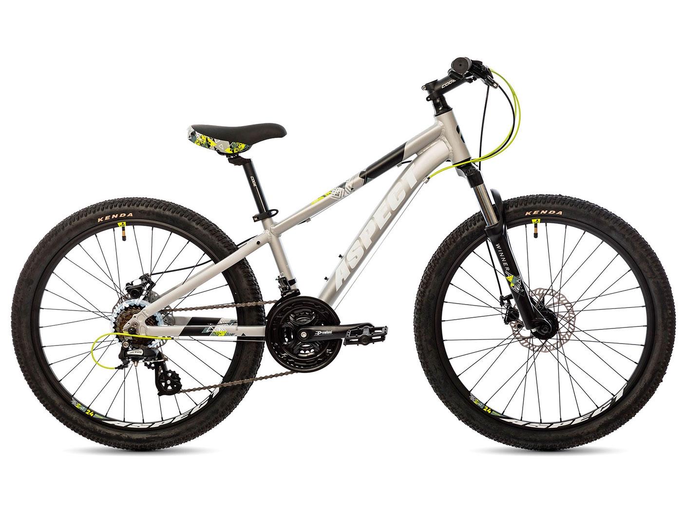 Велосипед Aspect WINNER 24 (Серый) (2019)