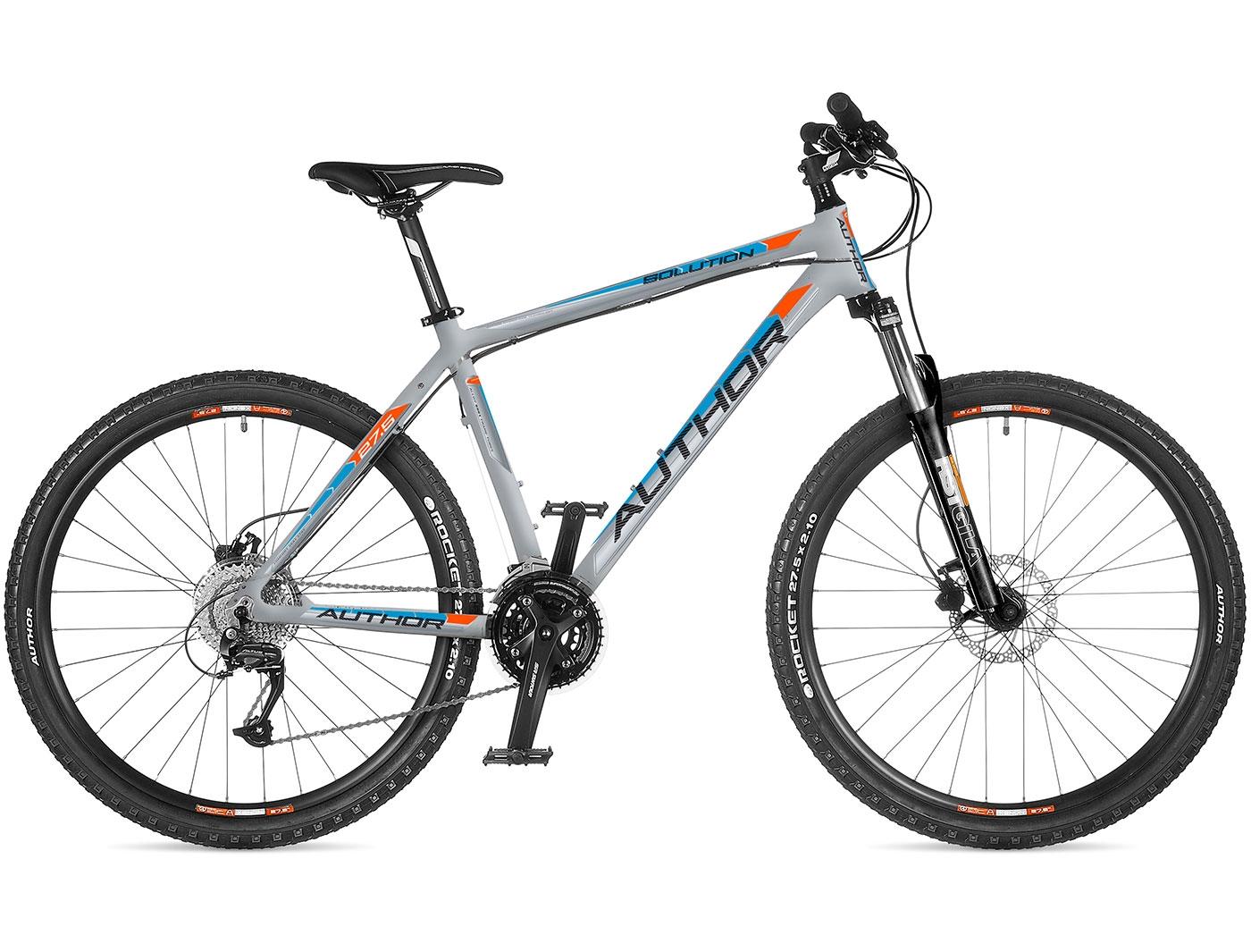 Велосипед AUTHOR Solution 27.5 (2018)