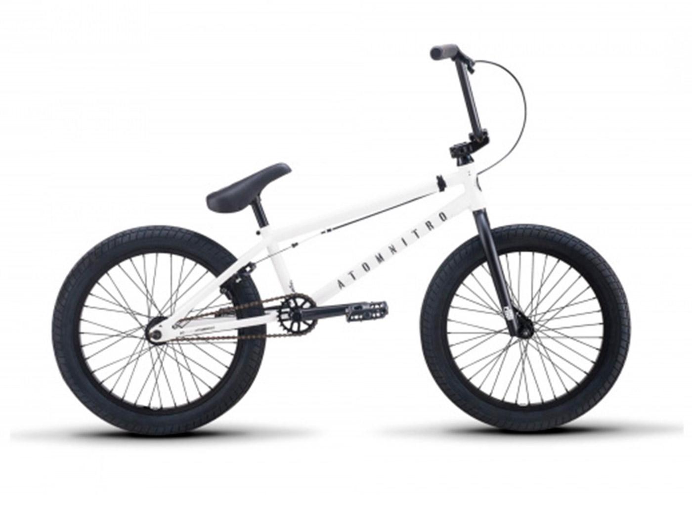 """Велосипед BMX Atom Nitro 20"""" белый"""