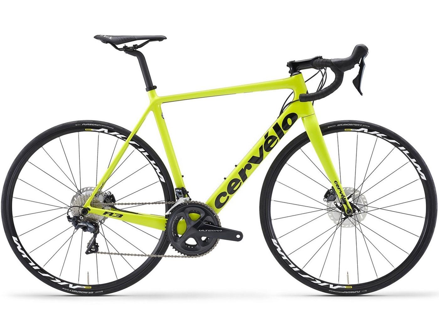 Велосипед Cervelo R3 Disc ULTEGRA (2018)