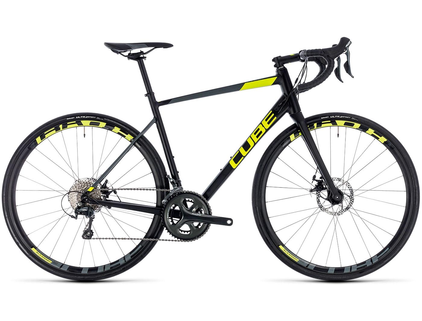 Велосипед CUBE Attain Race Disc (2018)